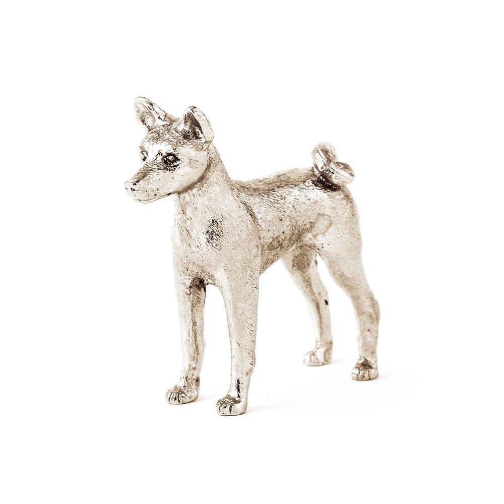 Basenji dog figure made in UK (japan import)