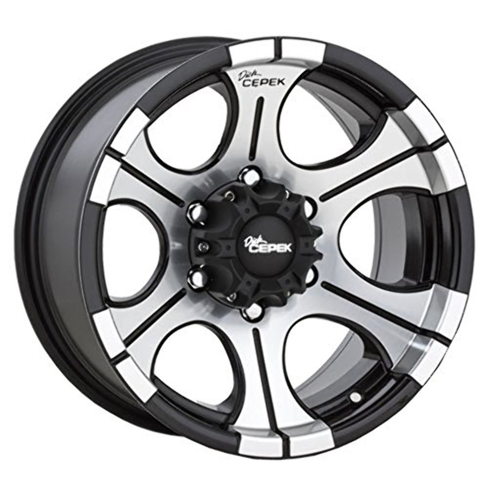90000000490 / 1168412 16X8 6X5.50 M/T DC2 BLACK Dick Cepek Wheels