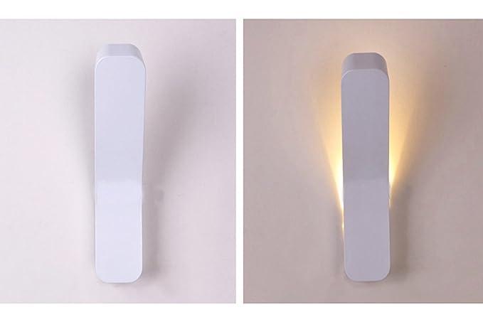 Worled Lampe/applique murale lED 6W de mural pour chambre étude escalier entrée ilumimación moderne ampoule incluída lumière chaud [classe d'efficacité énergétique