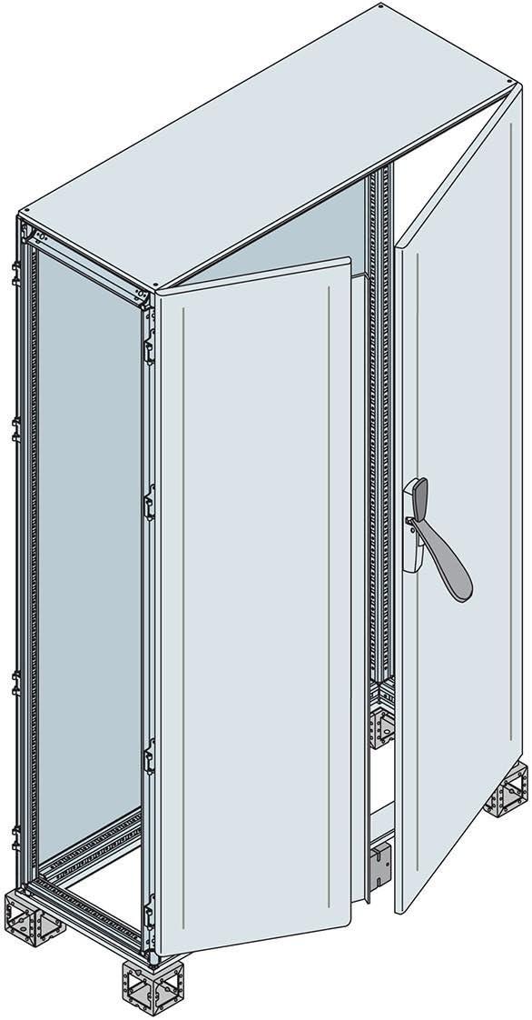 Abb-entrelec is2 - Armario doble puerta ciega solapada 2000x1600x500mm: Amazon.es: Bricolaje y herramientas
