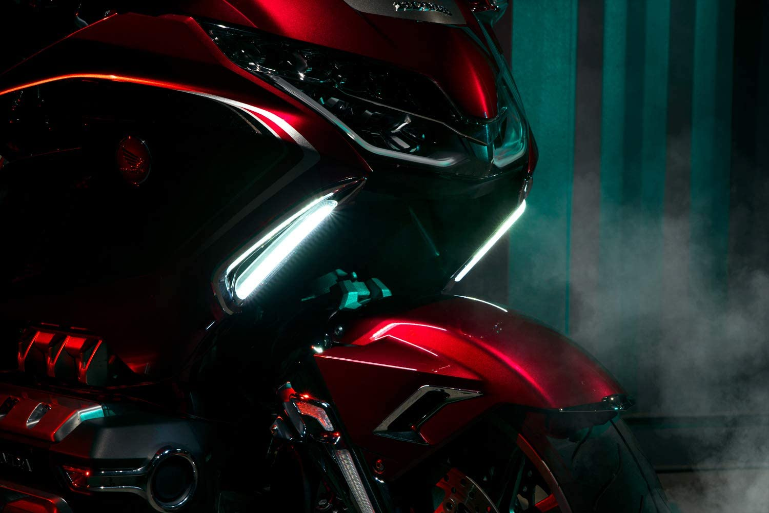 TWINART Lighted Vent Trim for Gold Wing