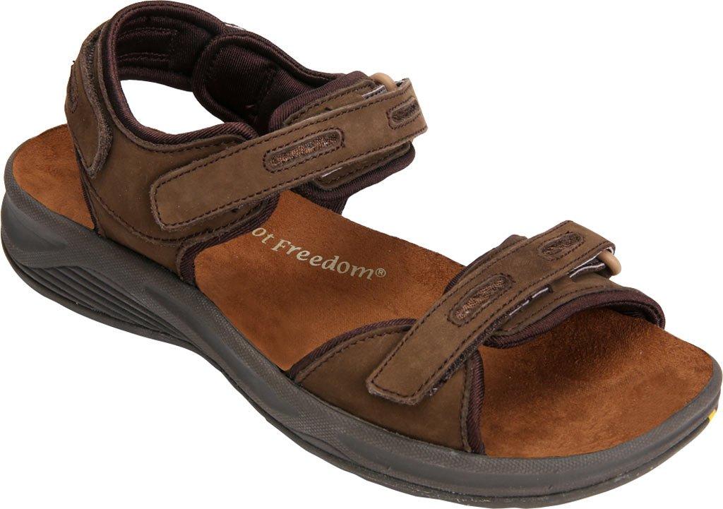 Drew Cascade Women's Sandal B01KQ300IM 12 B(M) US|Brown Nubuck