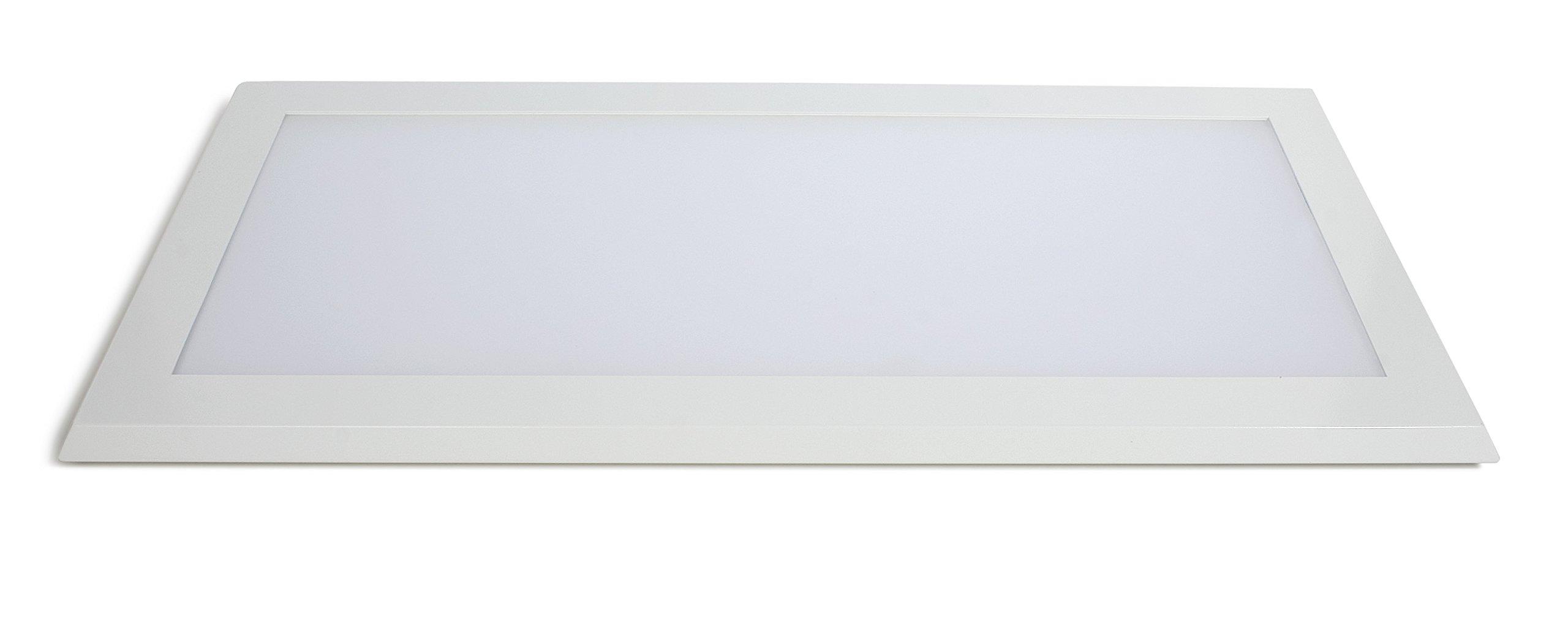 Pixi 1' X 2' Ultra-slim Flatlight ™ Edge-lit LED Luminaire 3000k (soft white) 90-130v Dimmable Internal Driver