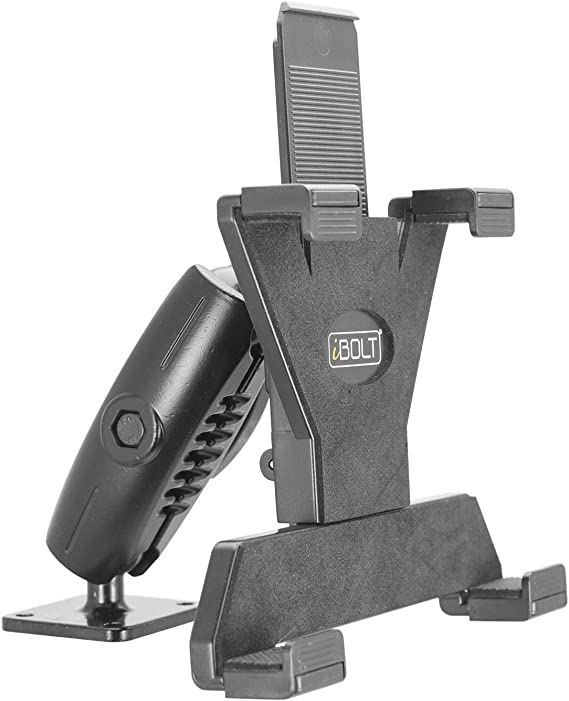 iBOLT TabDock Bizmount Metal AMPs - Heavy Duty Drill Base Mount for All 7
