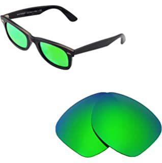 9028beeb0 Walleva Replacement Lenses for Ray-Ban Wayfarer RB2140 50mm- 5 Options