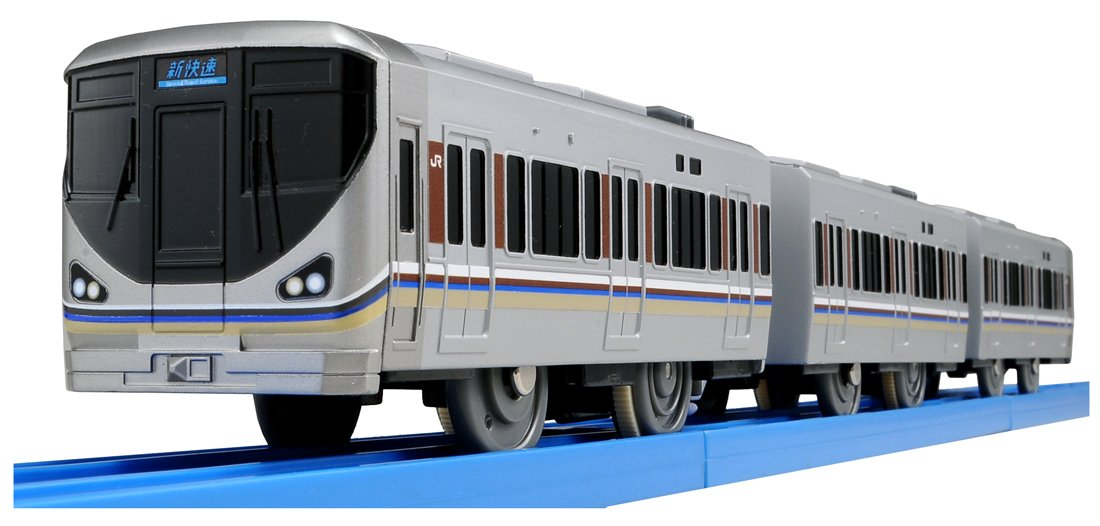 Tomica PlaRail Model Train S-42 Sound Series 225 Special Rapid Service (japan import) Takara Tomy