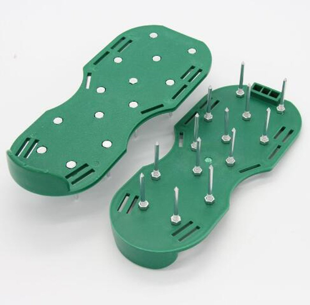 Aireador de césped zapatos de Spike cortacésped - Ezeso ...