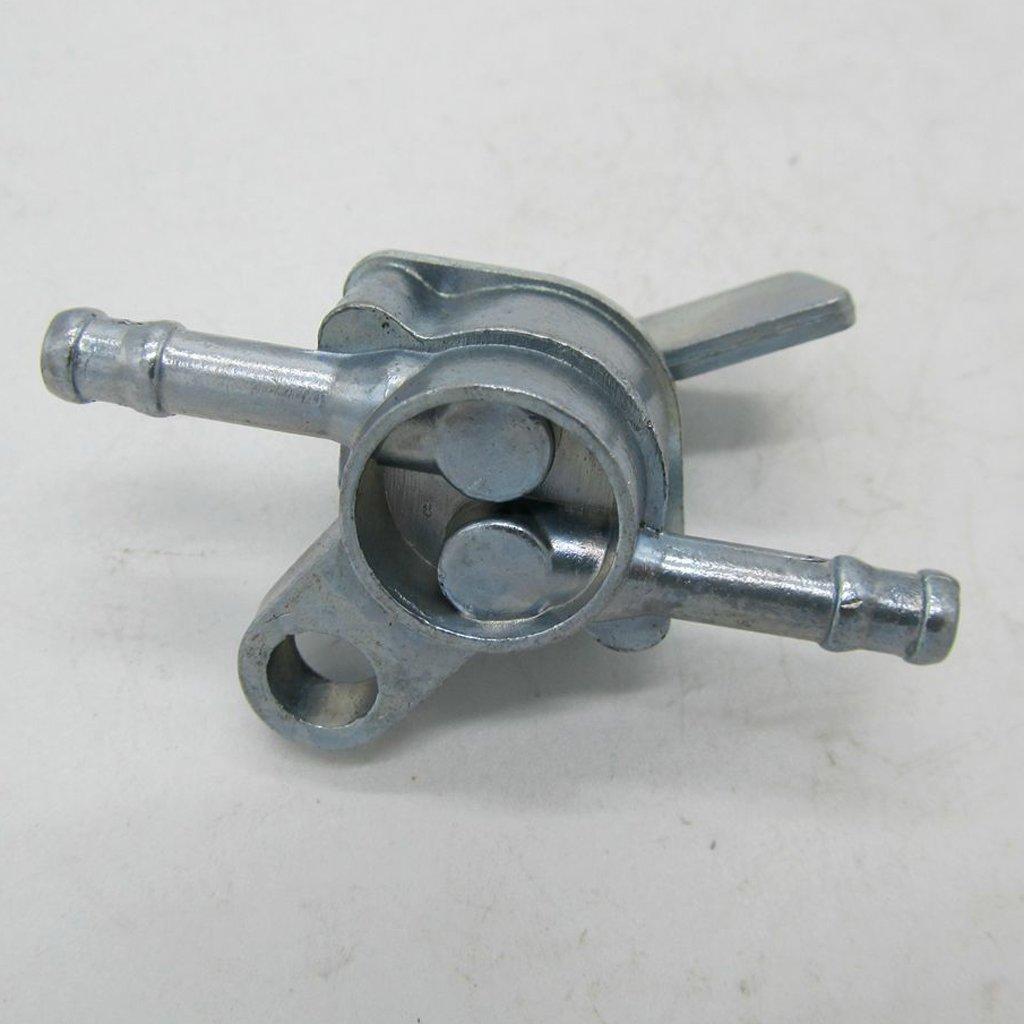 gazechimp V/álvula de Bloqueo de Combustible Tanque Petcock Interruptor de Gasolina Motocicleta Quad Pit Atv