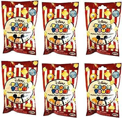 Bundle of 6 : Disney Tsum Tsum Series 9 Mystery Packs