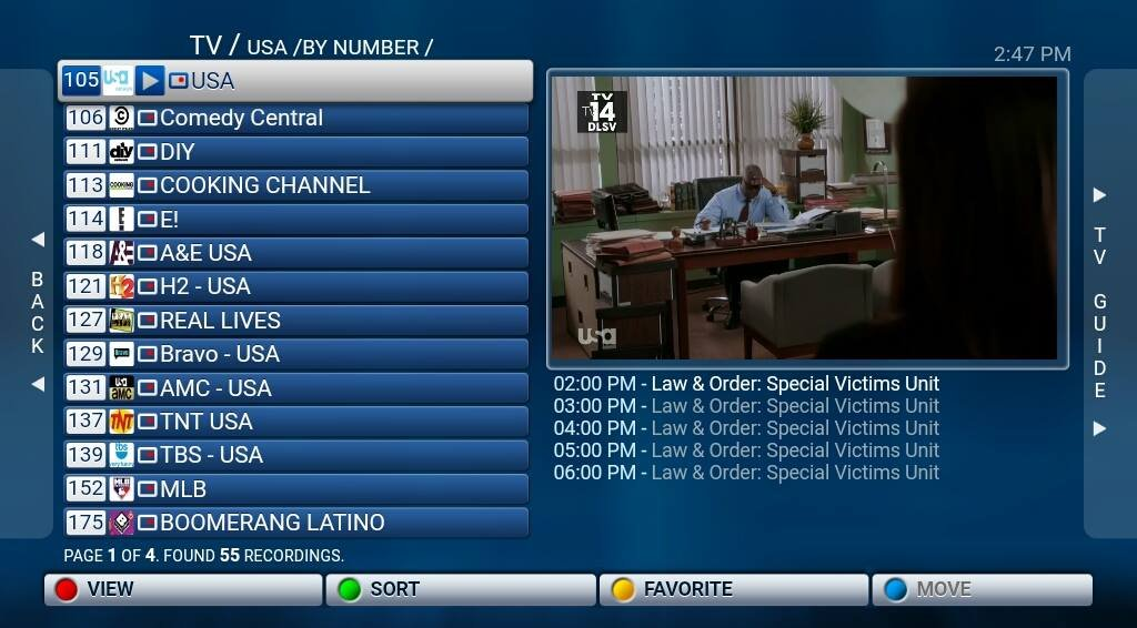 IPTV (Streaming) service For Mag250, Mag254, StbEmu