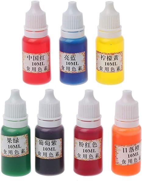 Lamdoo Pigmento de Resina epoxi 7 Colores Colorante Tinte ...