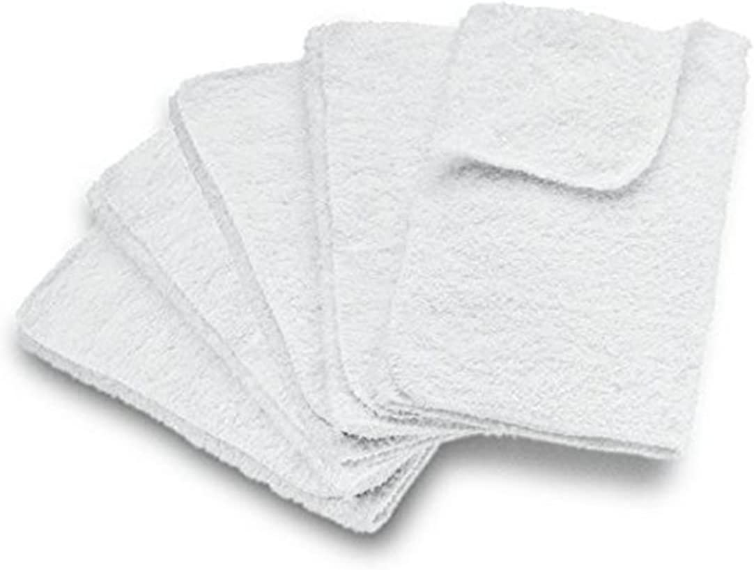 Pack of 5 SPARES2GO Cotton Cloth Cover Pads for Karcher SC1 SC2 SC3 K1 Steam Cleaner