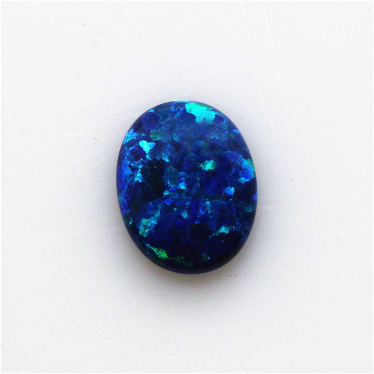 High Quality Natural Blue Opal Cabochon 4 Pieces Fabulous Blue Opal Jewelry Making Loose Gemstone#AB4893