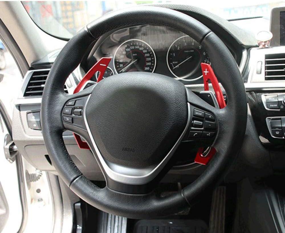 QFWCJ De Schaltwippen,F/ür BMW f30 f31 f32 f10 f20 f22 f15 f16 x1 x3 x4 x5 x6 Aluminium lenkrad paddel schalthebel schalthebel verl/ängerung