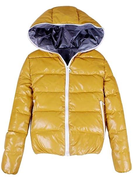 Mantel gelb winter