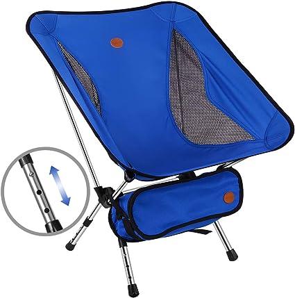 Sportneer Chaise de Camping Pliante Paquet de 2 Charge de Poids 158kg Portable L/éger Pliable Camping Chaise pour Backpacking//Randonn/ée//Pique-Nique//P/êche//Plage//Jardin