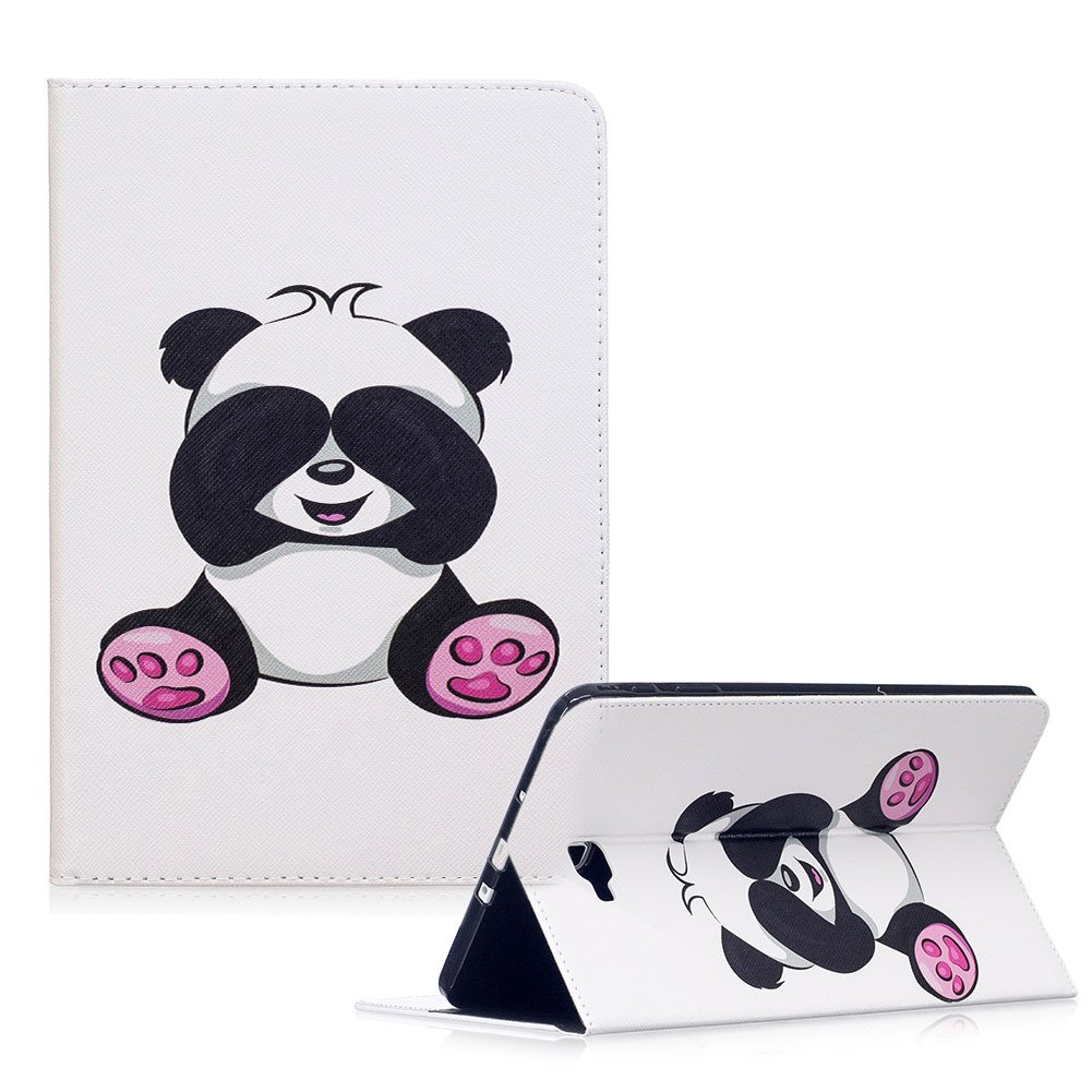 For Samsung Galaxy Tab A 10.1 Case, Funyye Beautiful New 3D Pattern Premium PU Leather with Magnetic Clouse Flip Folio Book Stand Case for Samsung Galaxy Tab A 10.1' (SM-T580 / SM-T585)-Panda Bamboo FUNYYE0028928