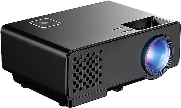 Mini Proyector Full HD, Mpow Proyector Portáti 1080P 1200 Lúmenes ...
