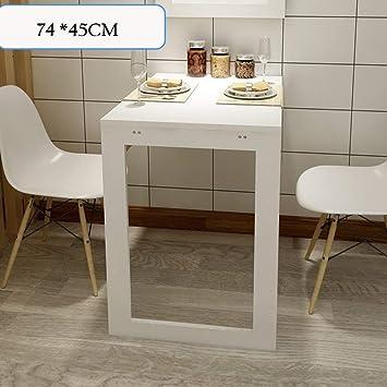 NA Lazy Table- Mesa Plegable Plegable con Patas, Escritorio de ...