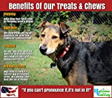 Holsome Valley Pork Roll Dog Chew Treats All