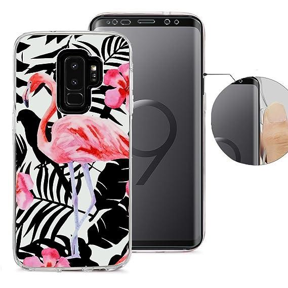 Livret De Conception Flamant Rose Pour Samsung Galaxy S, Plus S9