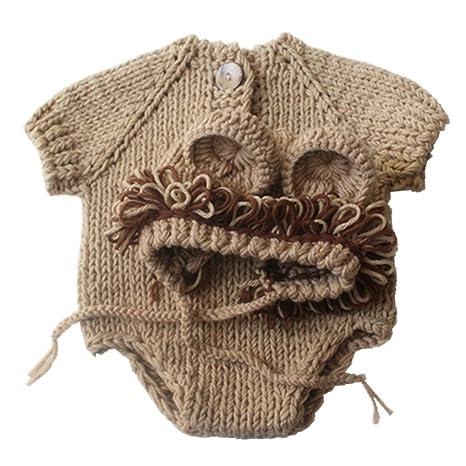 966115b6a Gorro de lana de lana para tejer