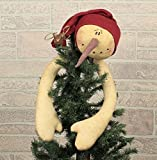 Honey In Me Small Ski Hat Tree Topper