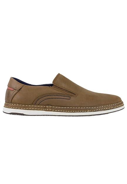 zapattu Baerchi - Zapatos Sin Cordones Marrón - Marrón, 39