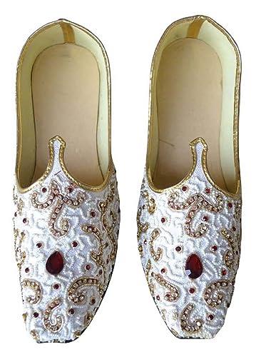 Mens White Designer Wedding Shoes MJ0190