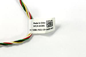 Dell PowerEdge 1950 2950 PERC5/i PERC6/i 2.5 3.5 RAID Battery Power Cable JC881 0JC881 CN-0JC881