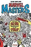 marvel super villains book - Color Your Own Marvel Masters