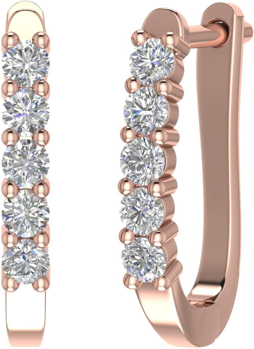 1/2 Carat 5-Stones Diamond...