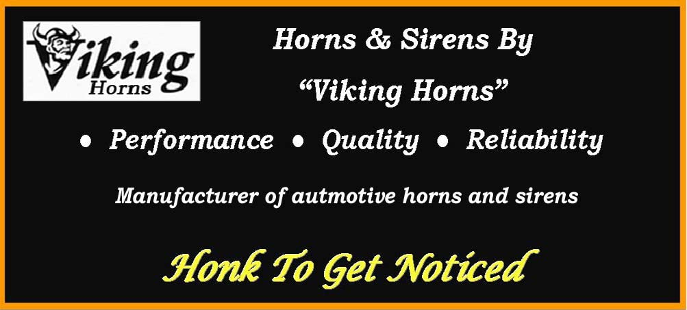 Viking Horns V101C-3//311-1B Super Loud 152 Decibels Black Train Sound Air Horn Kit with 1.5 Gallon Tank//150 PSI Compressor