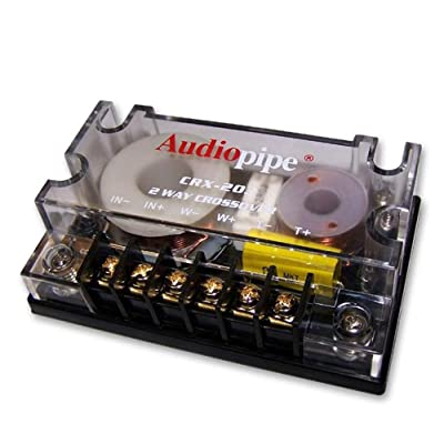 AUDIOPIPE CRX-203 2-Way 4-Ohm Car Audio Passive Crossover Networks CRX203: Electronics