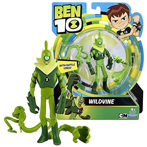 Cartoon Network Year 2017 Ben 10 Series 5 Inch Tall Figure - WILDVINE with Battle Vines ()