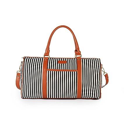 Bolso de fin de semana para mujeres, gran bolsa de viaje de ...