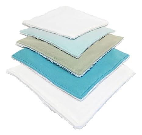Toallitas Lavables Pack (5) Blue Touch – Louis el sec azul