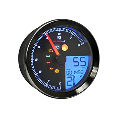 Koso BA051310 yamaha bolt gauge: Automotive