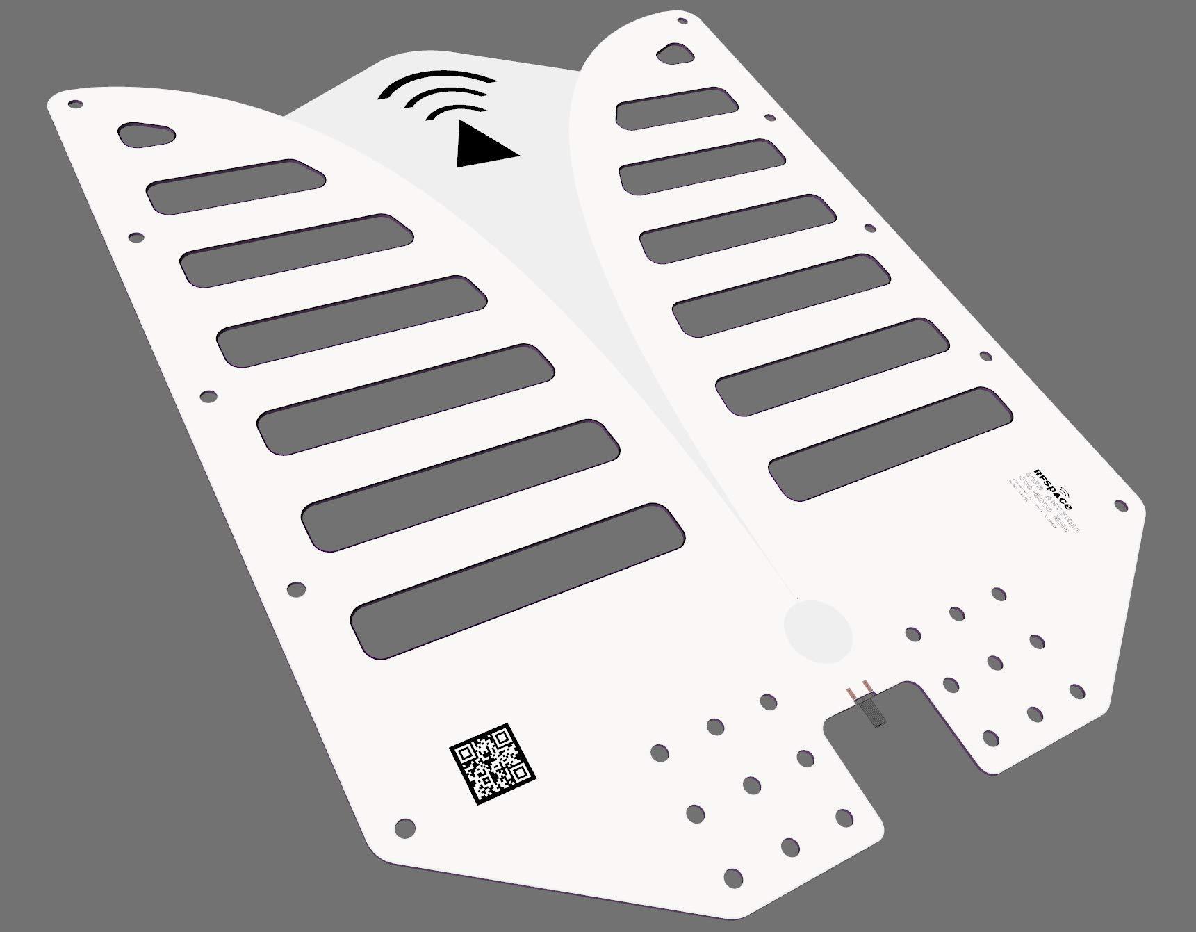 RFSPACE TSA-400 Ultra Wide Band IoT Antenna 375 MHz - 6 GHz for UWB TX/RX SDR Radar IOT GPR SIGINT EMC Test ADSB WiFi FVP Drone Video Vivaldi Antenna