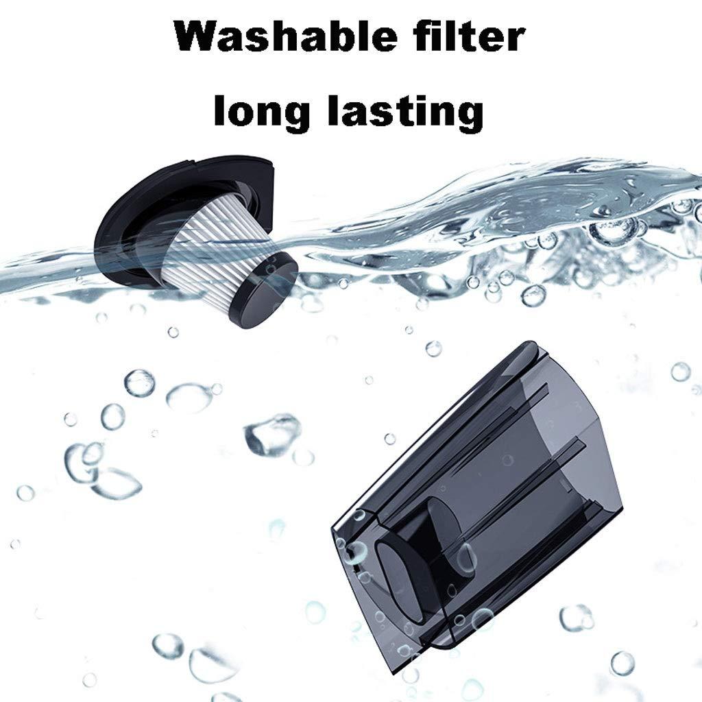 USB Port Rechargeable 12V Black Digital Display RENLEINB Handheld car Vacuum Cleaner Wet and Dry