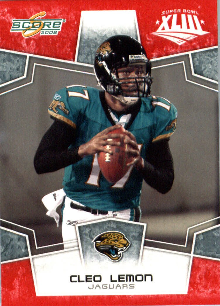 2008スコアレッドSuperbowl Edition NFLフットボールカード(のみ2400 Made B00B7TVDMM Jaguars ) – – # 147 CleoレモンQB – Jacksonville Jaguars B00B7TVDMM, Deckfree:0337ffe1 --- harrow-unison.org.uk