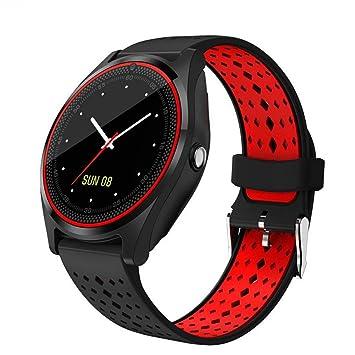 FRWPE Smart Watch Bluetooth Smartwatch SIM/TF Tarjeta Cámara ...