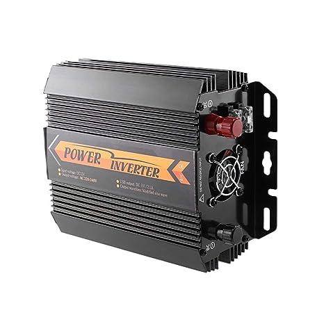 Losenlli Inversor Solar DC 12 V a CA 220 V 1000 W / 1500 W ...