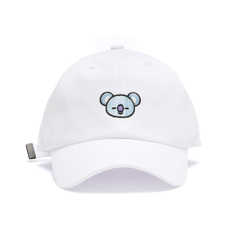 BT21 Official BTS Merchandise by Line Friends - KOYA Baseball Cap Hats for  Men and Women (Designed by Bangtan Boys) a4415a03ac8d