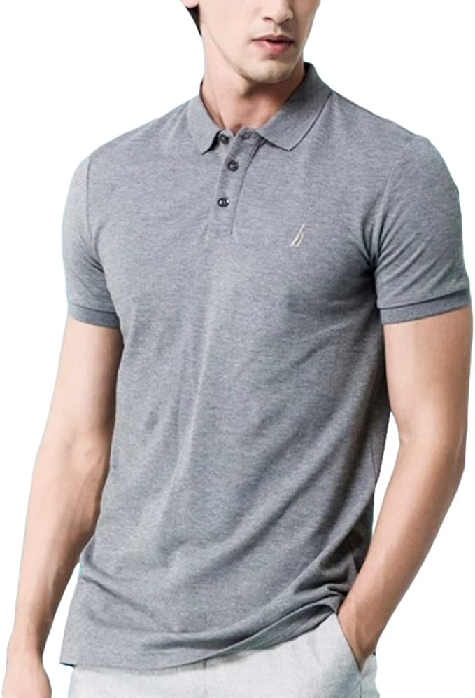 RENHONG Camiseta De Hombre Gris Negro Azul Verde Camiseta ...