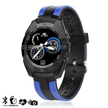 DAM. DMZ037BL. Smartwatch L3 con Monitor Cardíaco Y Notificaciones ...