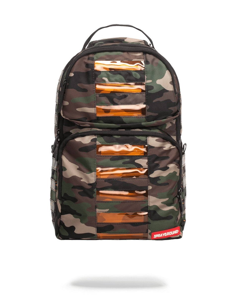 Sprayground Camo LED Bag to the Future Backpack