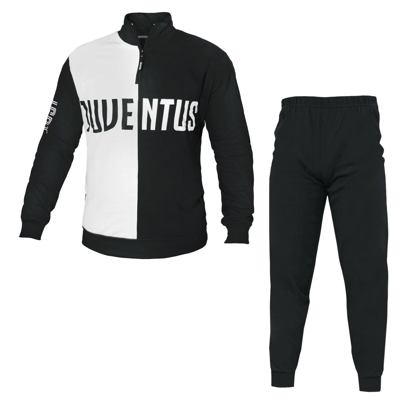 pigiama uomo lungo caldo cotone JUVENTUS prodotto ufficiale juve art JU14061