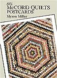 Six McCord Quilts Postcards, Myron Miller, 0486283607