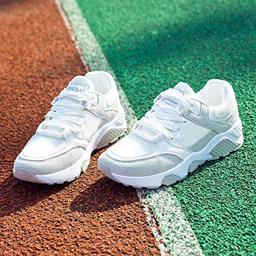 GUNAINDMX All New Shoes Flat White Light blanco Match Running Shoes Spring Shoes Shoes xwFT1xRH